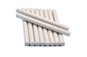 GLUE GUN WAX STICKS 11mm WHITE SET/10